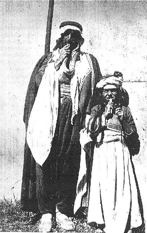 Шейх из рода Шейх Мандов с дочкой