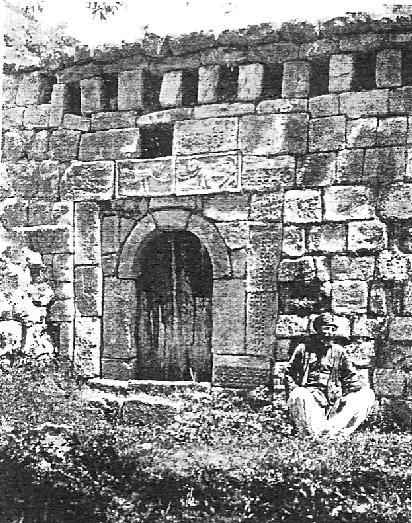 вход в храм Пир Хаджи